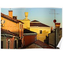 Impressions of Venice - Choose a Hotel With a Roof Terrace  Poster