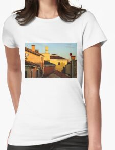 Impressions of Venice - Choose a Hotel With a Roof Terrace  Womens Fitted T-Shirt