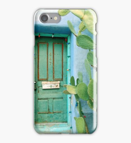 Green in the Desert iPhone Case/Skin