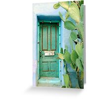 Green in the Desert Greeting Card