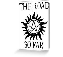 Supernatural - The Road So Far Greeting Card
