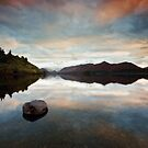 Derwent Water Sunset by James Grant