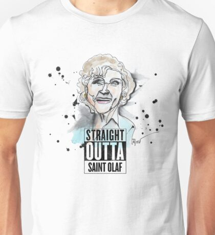 Straight Outta Saint Olaf  Unisex T-Shirt