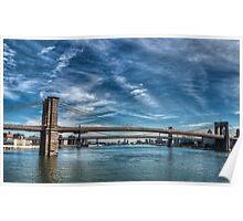 Il ponte di Brooklyn Poster