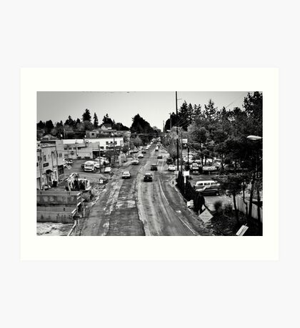 boulevard of dreams Art Print