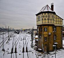 Beusselstaße Junction, Berlin by James Christie