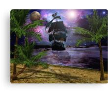 Second star to the right.. Canvas Print