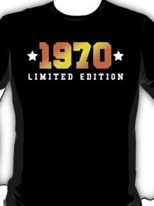 1970 Limited Edition Birthday Shirt T-Shirt