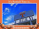 It's Football Time in Tennessee by lynell