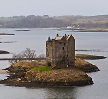 Castle Stalker From Above by James Christie