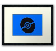 Pokemon Pokeball Water  Framed Print
