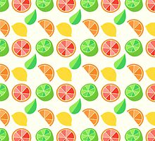 Citrus Pattern by adorkible