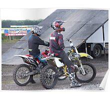 stunt bikers Poster