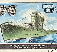 Navy of the Soviet Union stamp series CCCP 19821982 CPA 5334 USSR by wetdryvac