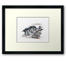 Hide-a-way Framed Print