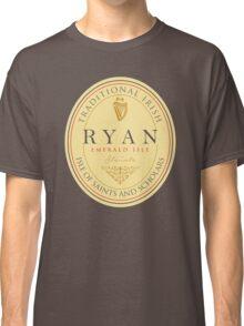 Irish Names Ryan Classic T-Shirt