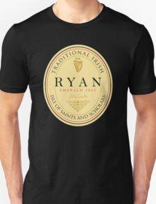 Irish Names Ryan T-Shirt