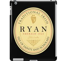 Irish Names Ryan iPad Case/Skin