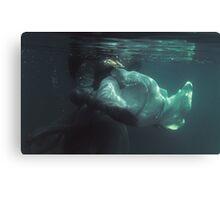 Underwater melancholy Canvas Print