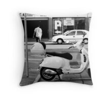 Easy Parking - Black and White - Adelaide Throw Pillow