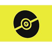 Pokemon Pokeball Electric  Photographic Print