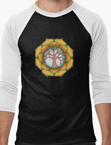 Tree of Life Mandala Men's Baseball ¾ T-Shirt
