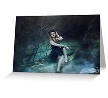 Young Maleficent  Greeting Card