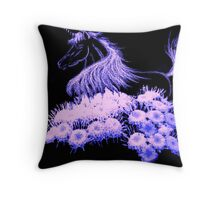 Challenge to be a Unicorn - Story  E Book for kids Throw Pillow