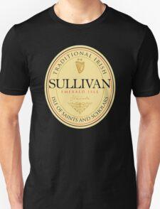 Irish Names Sullivan Unisex T-Shirt