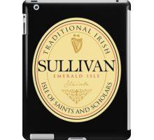 Irish Names Sullivan iPad Case/Skin