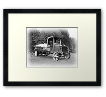 GMC trank truck Framed Print