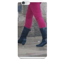 A Pink Punk For Some Pretty Pesky Pink Punkers.... iPhone Case/Skin