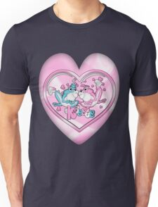 Little Frogs In Love Unisex T-Shirt