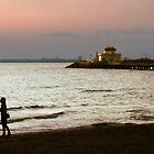 St Kilda Beach Sunset by Roz McQuillan