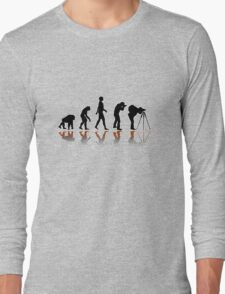 Reflexion Photographer Evolution Long Sleeve T-Shirt