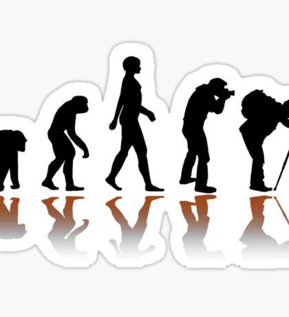 Reflexion Photographer Evolution Sticker