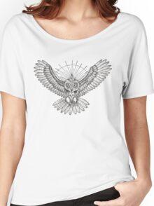 Mason Owl Women's Relaxed Fit T-Shirt