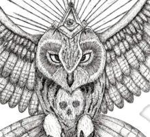 Mason Owl Sticker