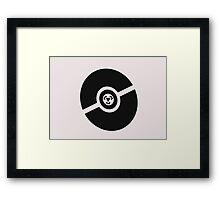 Pokemon Pokeball Steel Framed Print
