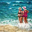 Beach Babes II by Sherry Cummings