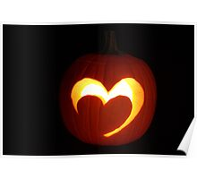 Pumpkin valentine Poster