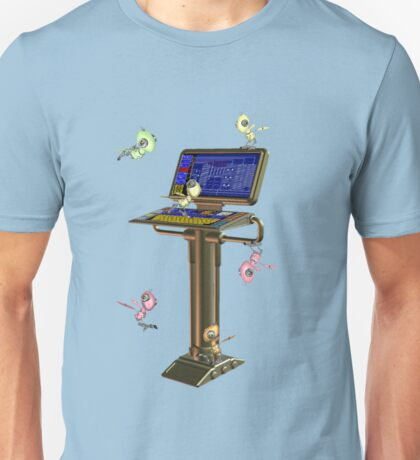 Attack of the Space Bugs .. tee shirt Unisex T-Shirt