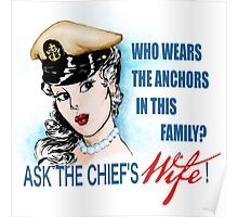 Ask the Chief's Wife Poster