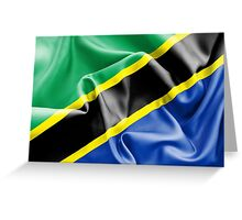 Tanzania Flag Greeting Card