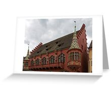 Historic Merchants' Hall, Freiburg Greeting Card