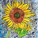 Sunflower ~ A collaboration by Alexandra Felgate