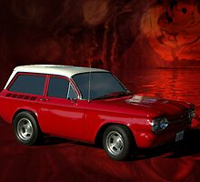 """1963 Corvair """"Stubby"""" Station Wagon by TeeMack"""
