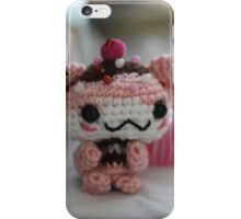 Hamster Cupcake iPhone Case/Skin