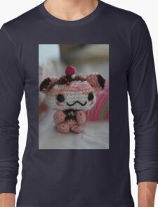 Hamster Cupcake Long Sleeve T-Shirt