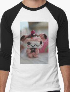 Hamster Cupcake Men's Baseball ¾ T-Shirt